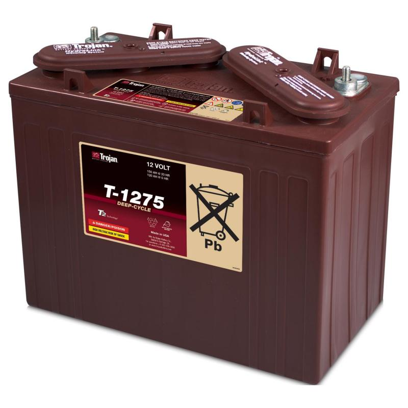 batterie trojan t 1275 per golf car ezgo e club car precedent