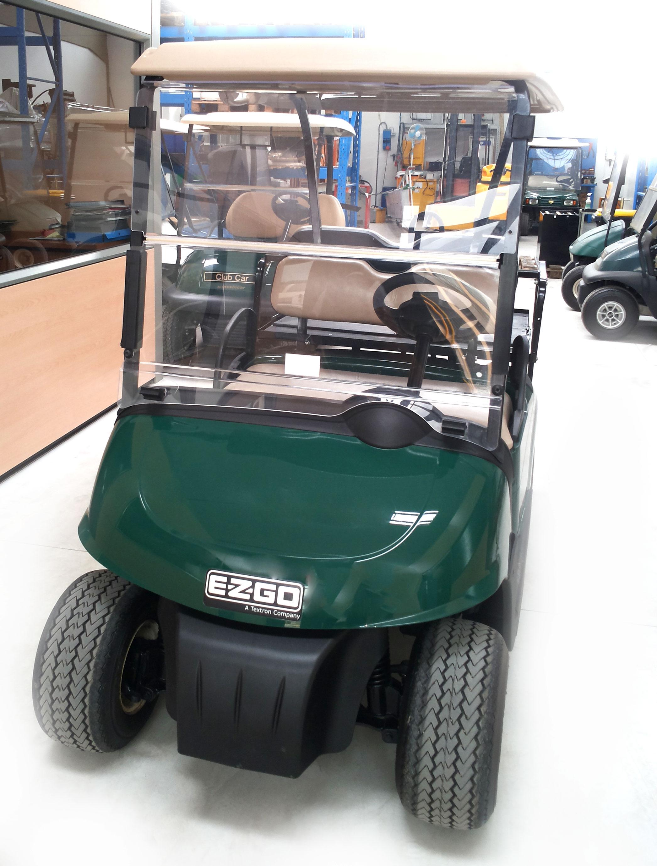 golf car usata Ezgo con flip flop