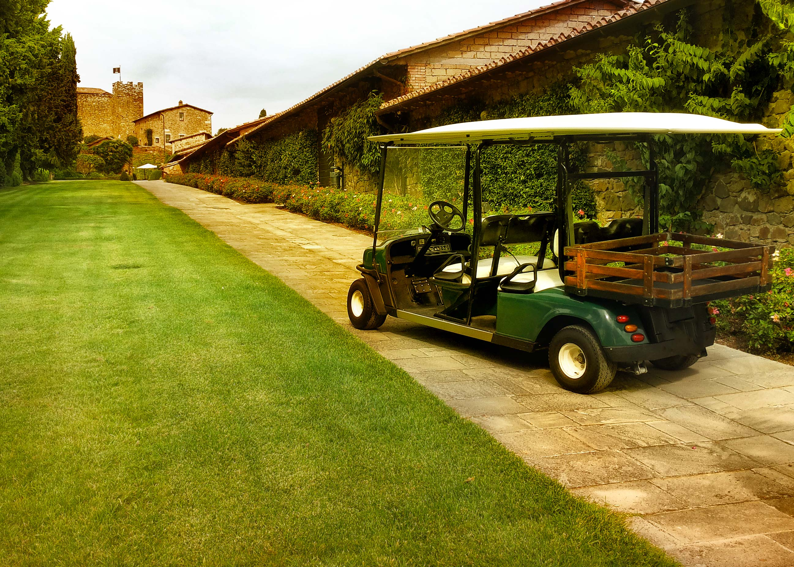 golf car sei posti